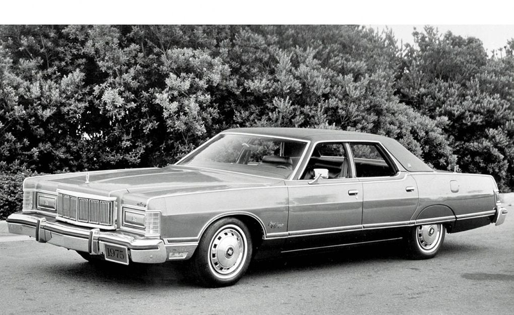 1977 grand marquis clipart svg freeuse Mercury: End of an era - The Globe and Mail svg freeuse