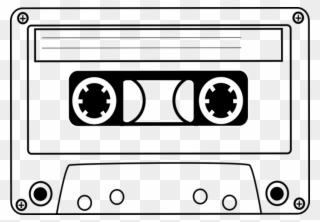 White cassette tape clipart