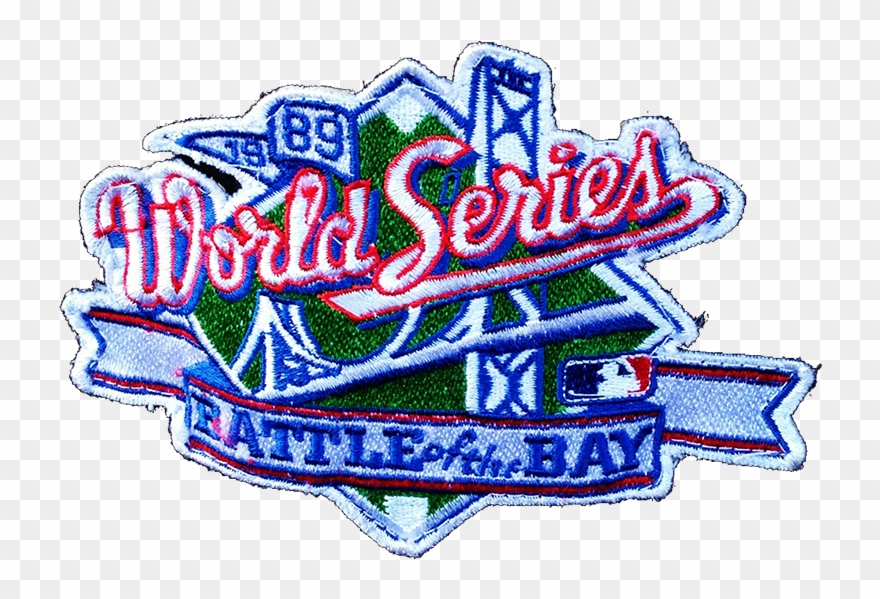 1989 clipart clipart free The Official Logo For The 1989 World Series Between - World Series ... clipart free