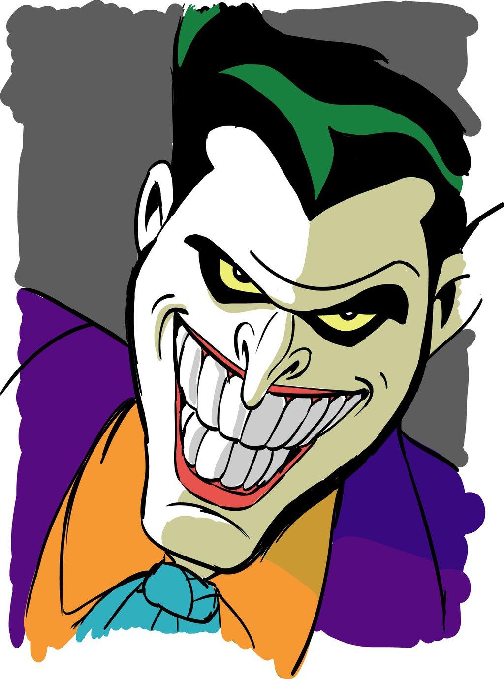 clipartfest cartoon. 1992 animated joker clipart