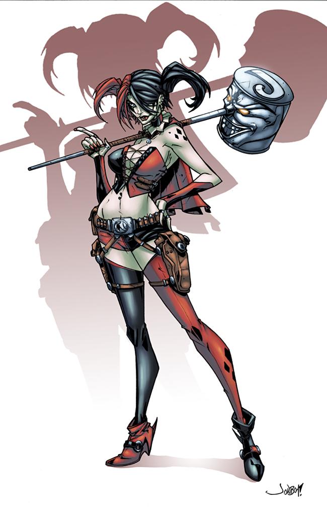 Harley and deadpool quinn. 1992 animated joker clipart