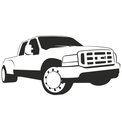 Dully clipart picture black and white download Ford Truck Clipart & Free Clip Art Images #3725 - Clipartimage.com picture black and white download