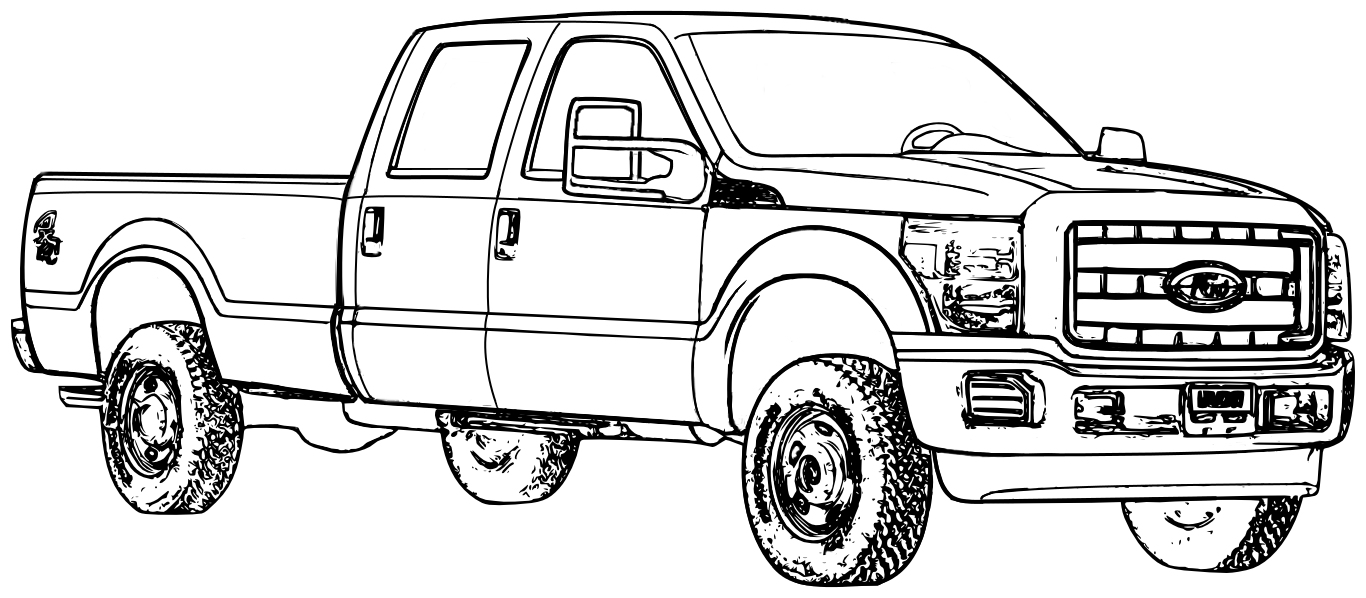 1994 ford f150 clipart clip royalty free Ford Truck Clipart & Free Clip Art Images #3725 - Clipartimage.com clip royalty free