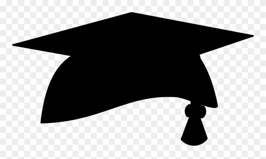 Graduation cap clipart black and white transparent background download Elba Arvelo – Page 14 – 2.000.000 Cool Cliparts, Stock Vector And ... download