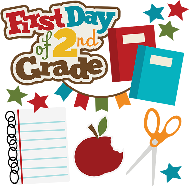 1st apple clipart clip stock First Day Of 2nd Grade SVG school svg collection school svg files ... clip stock