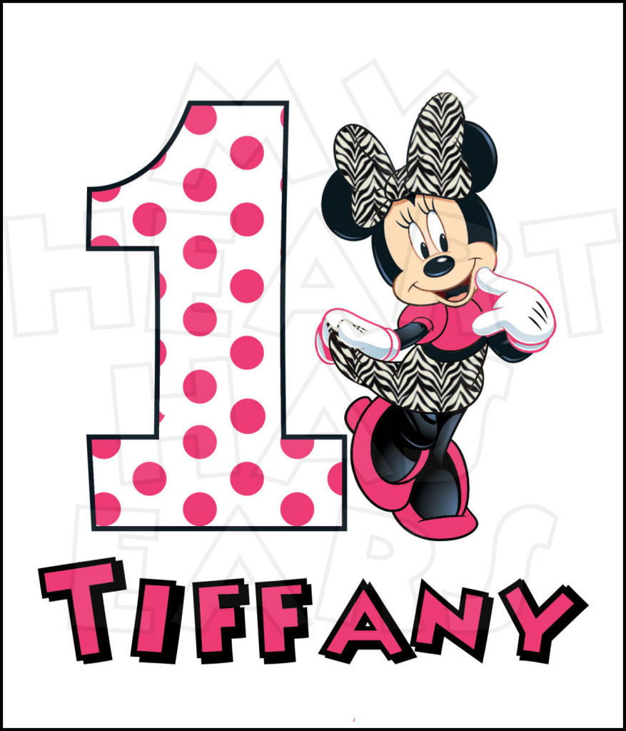 1st birthday boy red clipart. Minnie st kid mouse