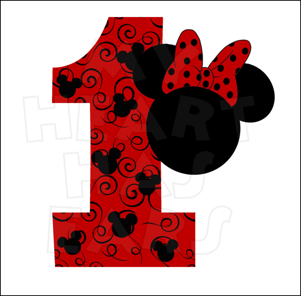 1st birthday boy red clipart.  st clipartfest minnie