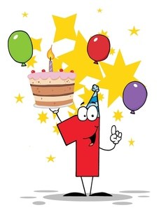 First clip art images. 1st birthday cake clipart