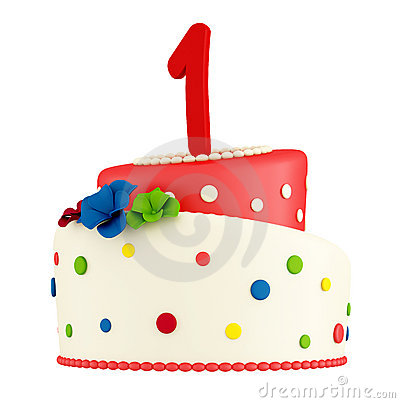 1st birthday cakes clipart vector royalty free library Happy First Birthday Cake Stock Photos, Images, & Pictures - 1,552 ... vector royalty free library
