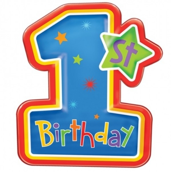 st clipartfest first. 1st birthday clipart