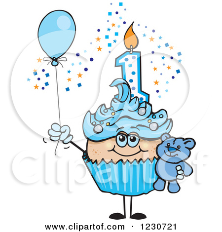 First clip art images. 1st birthday clipart boy