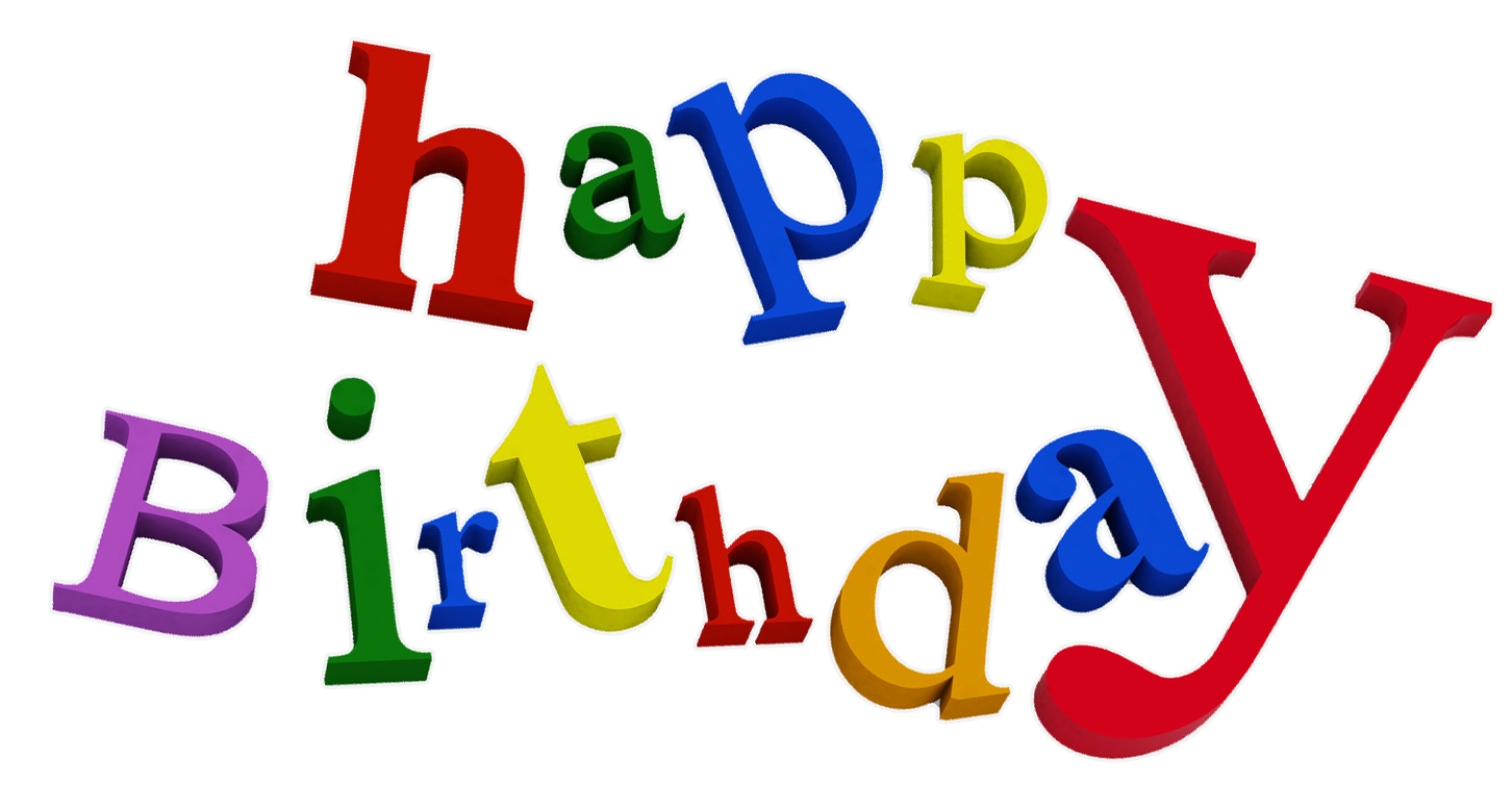 1st birthday clipart images picture library Happy Birthday PNG images free download picture library