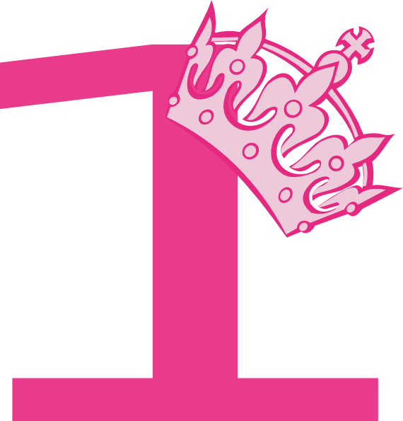 Pink princess crown clipart png png freeuse 1st birthday clipart girl - ClipartFest png freeuse