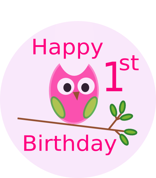1st birthday clipart images graphic stock 1st birthday clipart - ClipartFest graphic stock