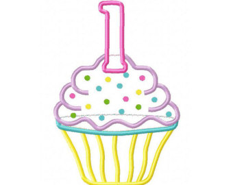 1st birthday clipart images transparent 1st birthday cupcake clipart - ClipartFest transparent