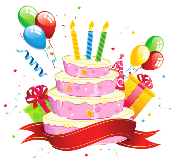 Transparent hb u pinterest. Clipart of birthday cake