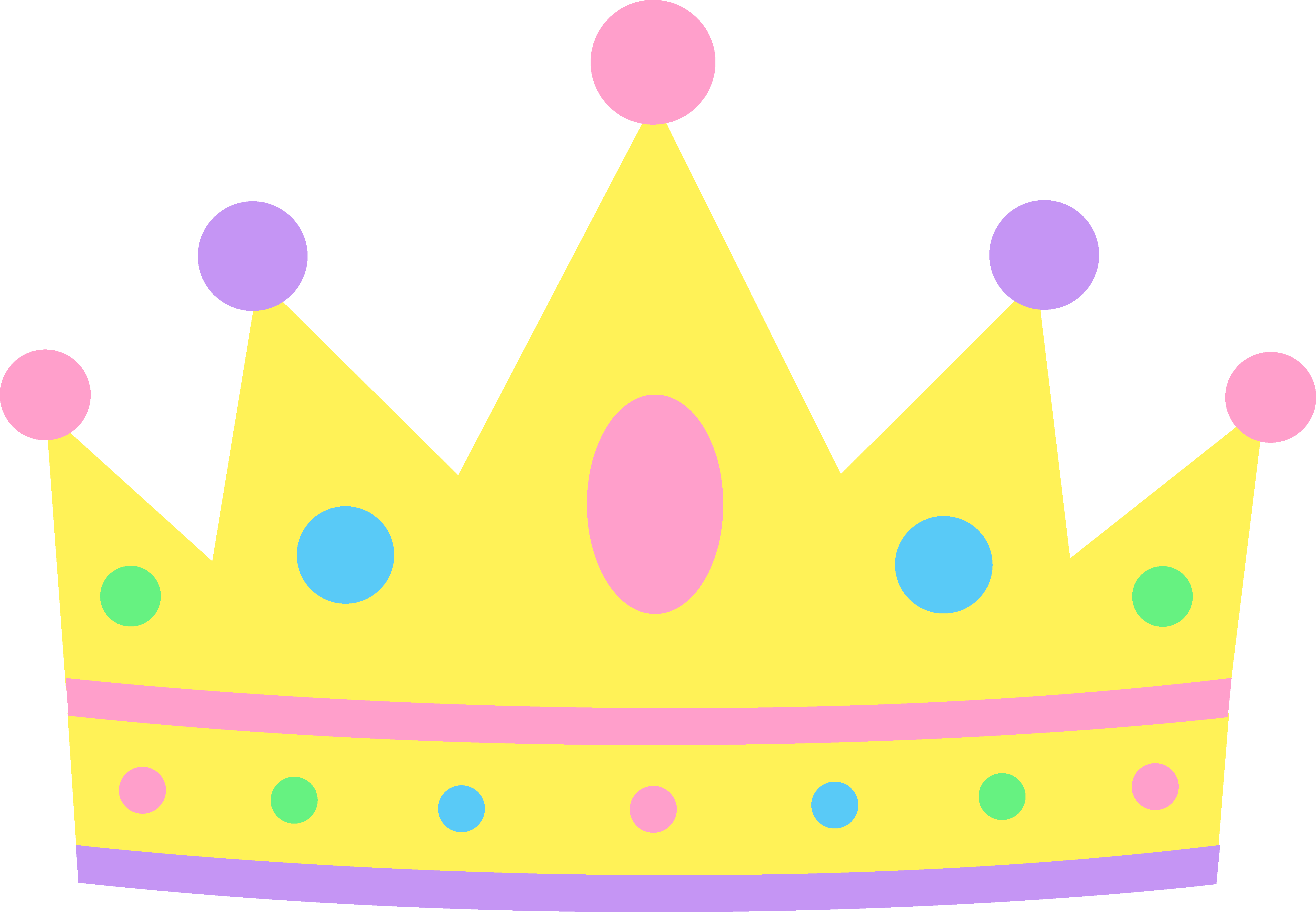 Famous with crown clipart svg transparent library Pastel Princess Crown | Baby Shower Ideas for a princess | Pinterest ... svg transparent library