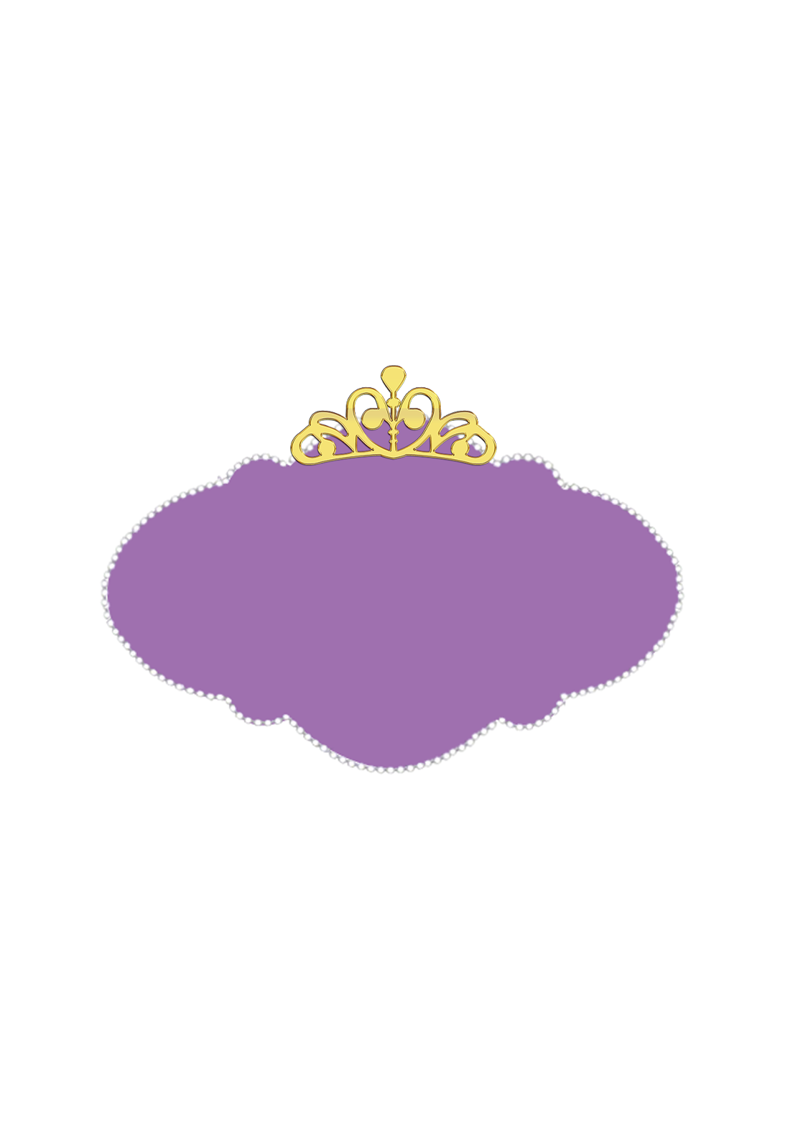 Princess pinterest. Crown clipart purple