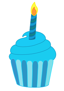 1st birthday cupcake clipart.  st kid cake