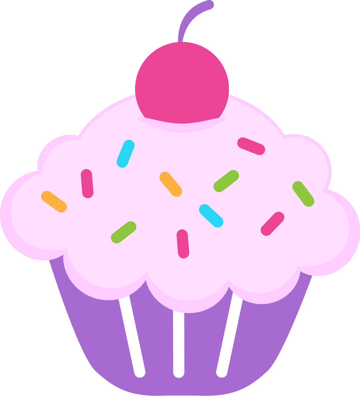 Birthday Cupcake Clipart & Birthday Cupcake Clip Art Images ... vector free library