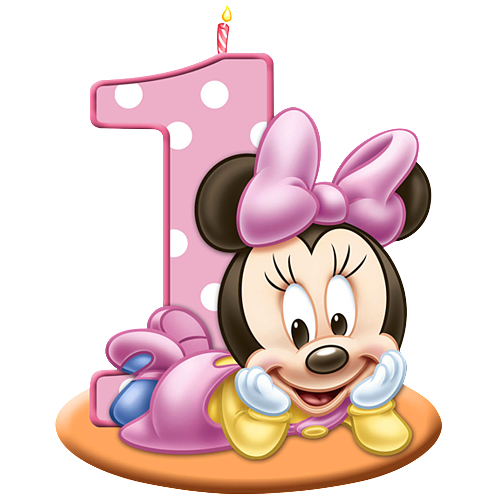 1st birthday images clip art graphic royalty free download Lots of ALL Free Mickey and Minnie Mouse Clip art PNG files | Create ... graphic royalty free download