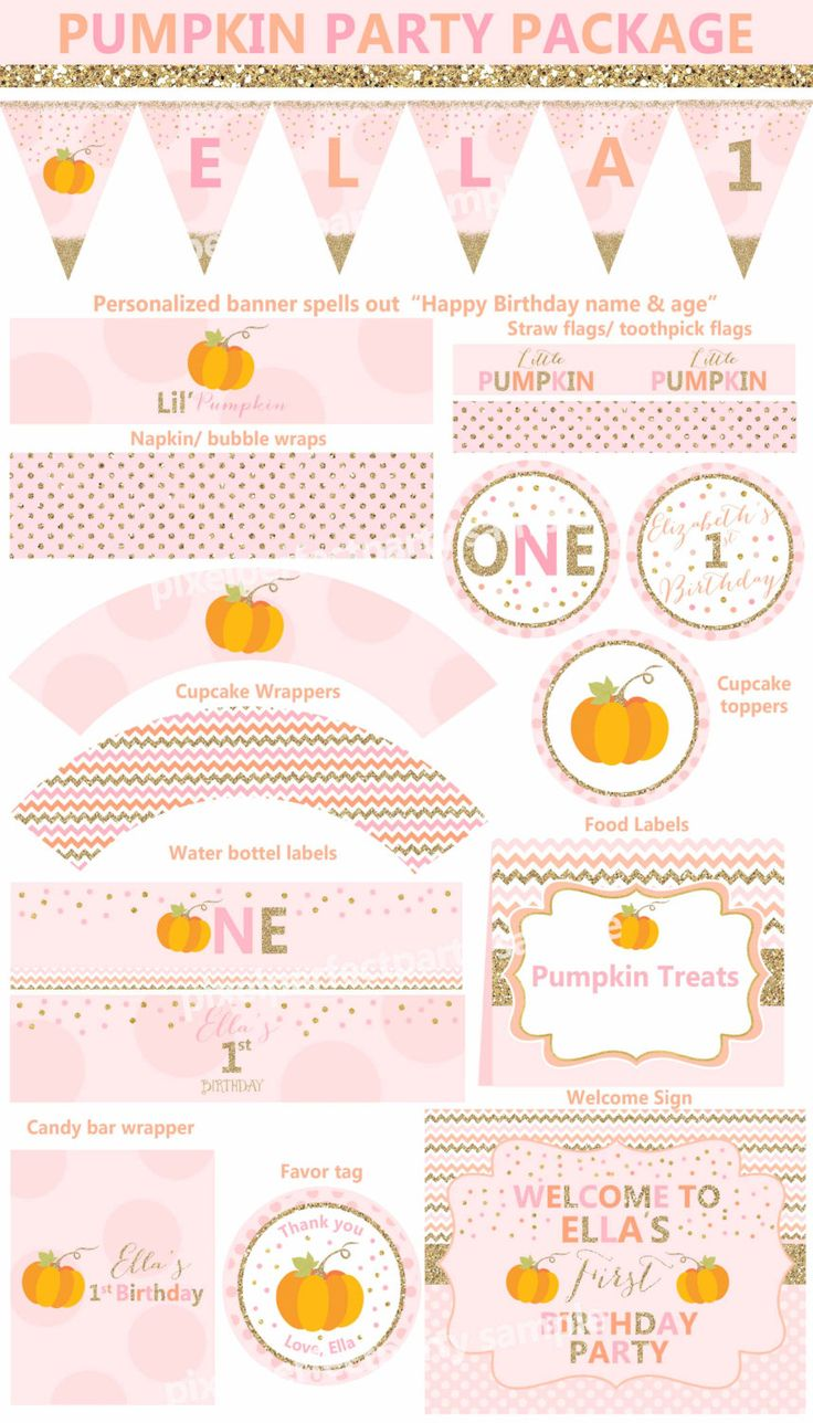 1st birthday pumpkin clipart png free 17 Best ideas about Little Pumpkin Party on Pinterest | Pumpkin ... png free
