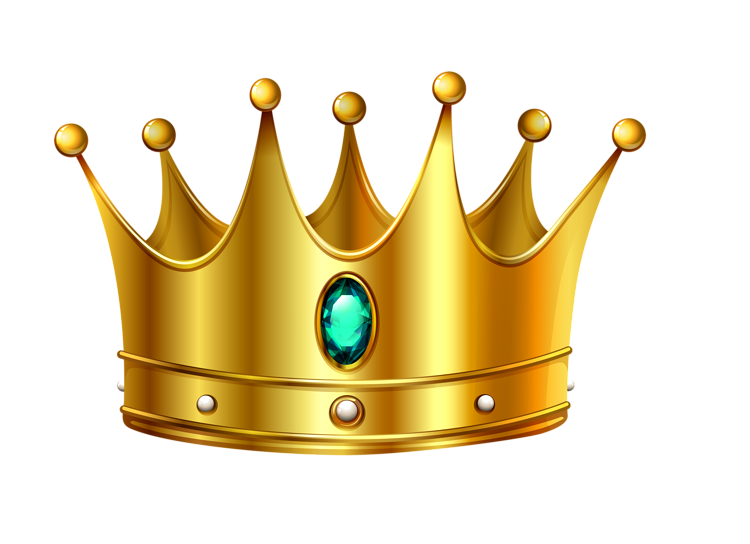 Crown for a queen clipart. Transparent images free download