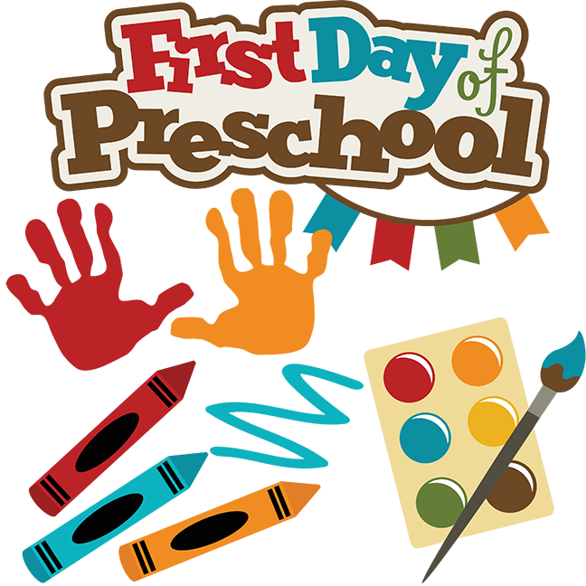 School picture day clipart vector stock Preschool Clip Art | First Day Of Preschool SVG school svg files ... vector stock