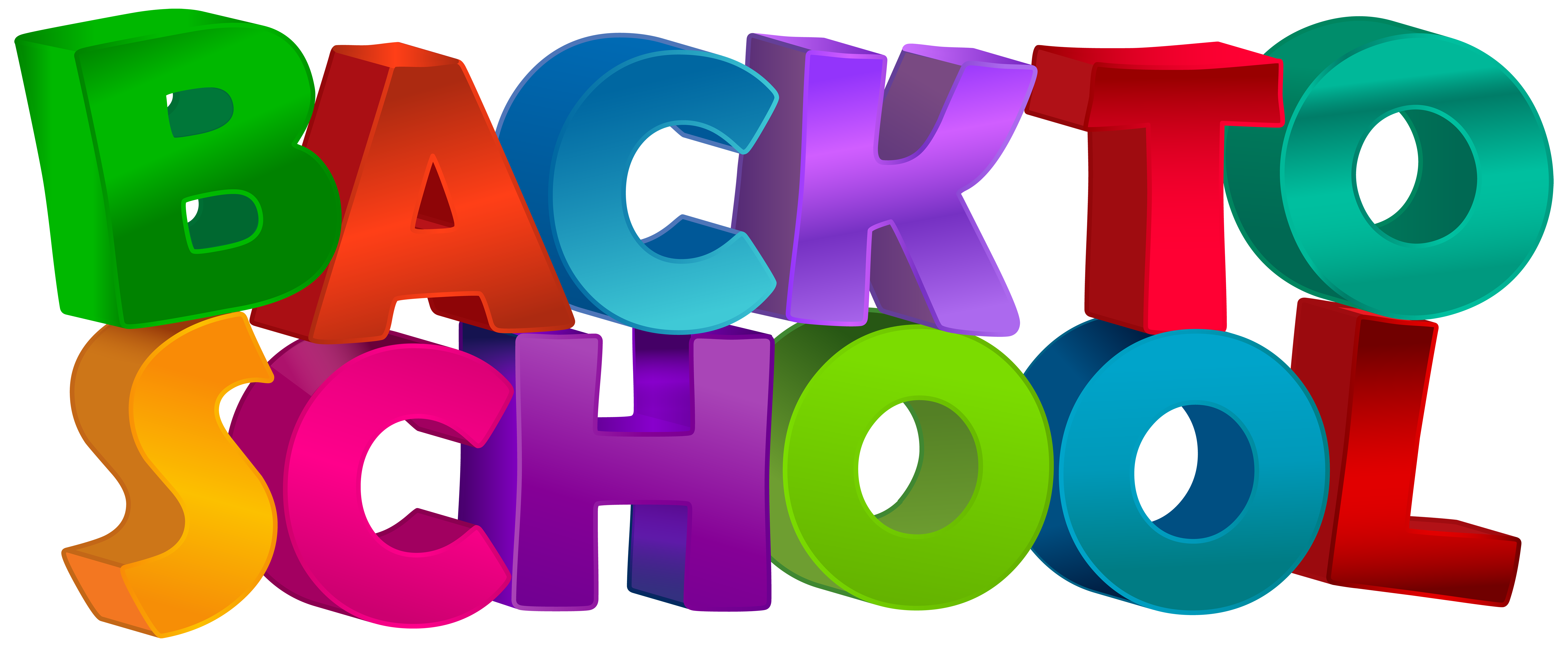 Clipart back to school free clip art royalty free Back to School Text Transparent Clip Art Image | Gallery ... clip art royalty free