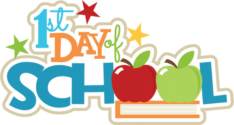 First day of school clipart clip art free download Fair Elementary: First Day of School! August 4, 2017 clip art free download