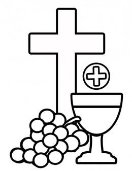 1st holy communion clipart