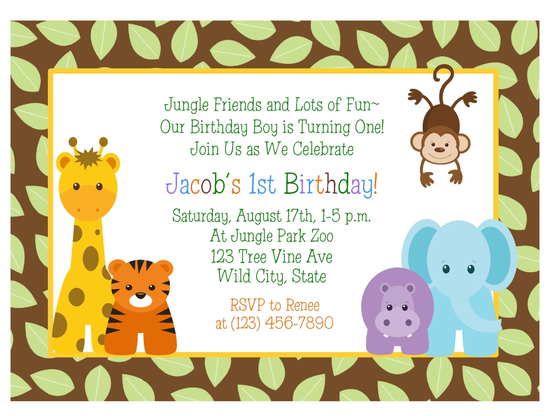 1st jungle animal birthday clipart vector royalty free 1st jungle animal birthday clipart - ClipartFest vector royalty free