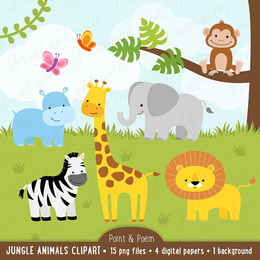 1st jungle animal birthday clipart vector black and white 1st jungle animal birthday clipart - ClipartFest vector black and white