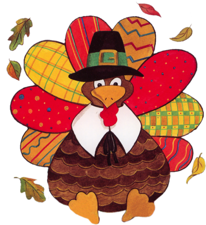 Thanksgiving clip art. Cute turkey face clipart