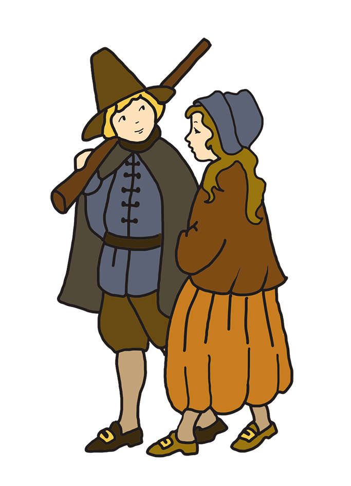 Thanksgiving pilgrim clipart jpg free Happy Thanksgiving Clipart jpg free