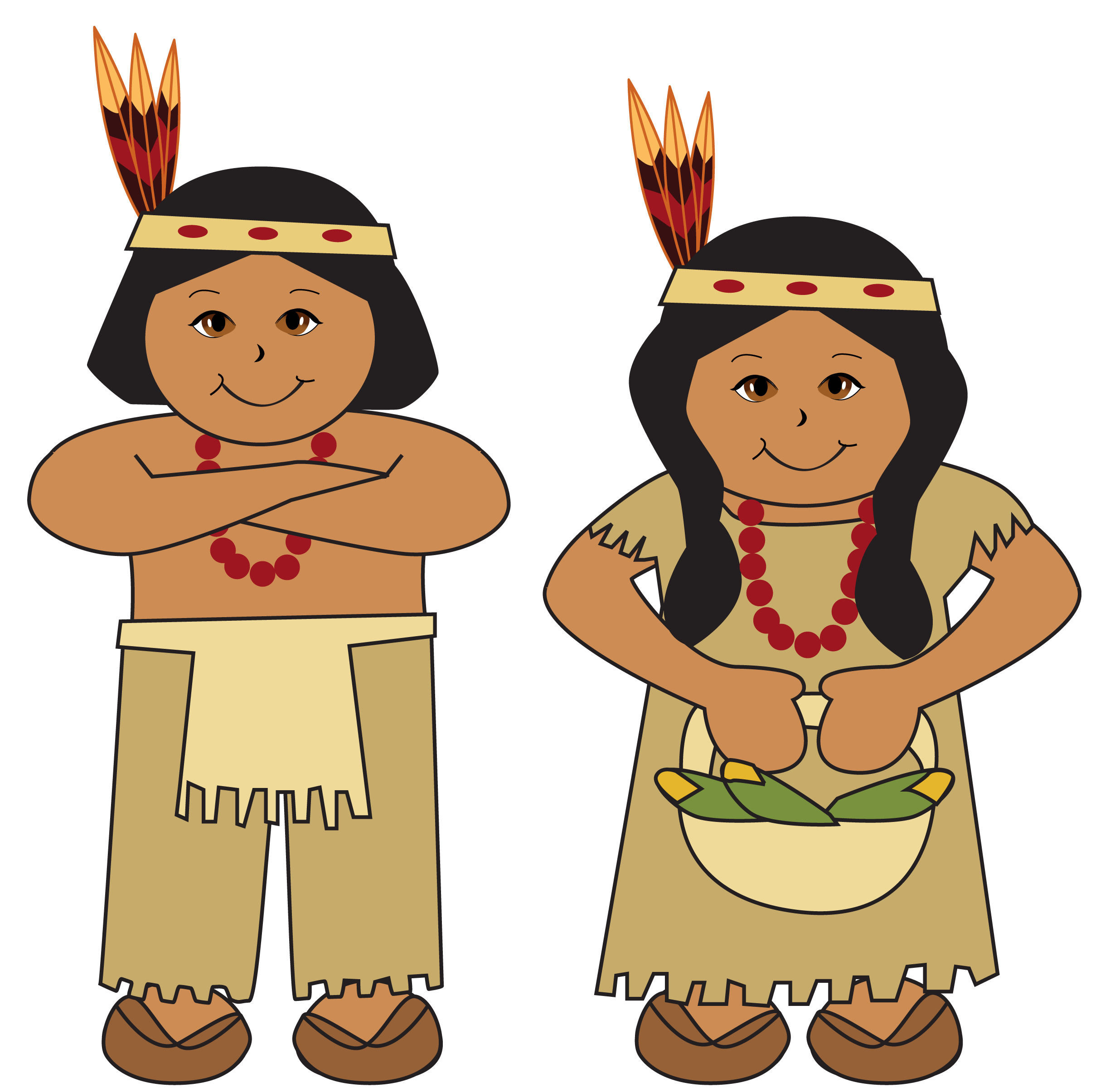 Baby 1st thanksgiving clipart vector royalty free download Native americans clipart picture | Indian | Pinterest | Native ... vector royalty free download