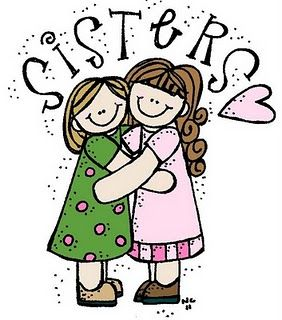 2 adult sisters clipart clip royalty free My sister is the only person on earth who shares every one of the ... clip royalty free