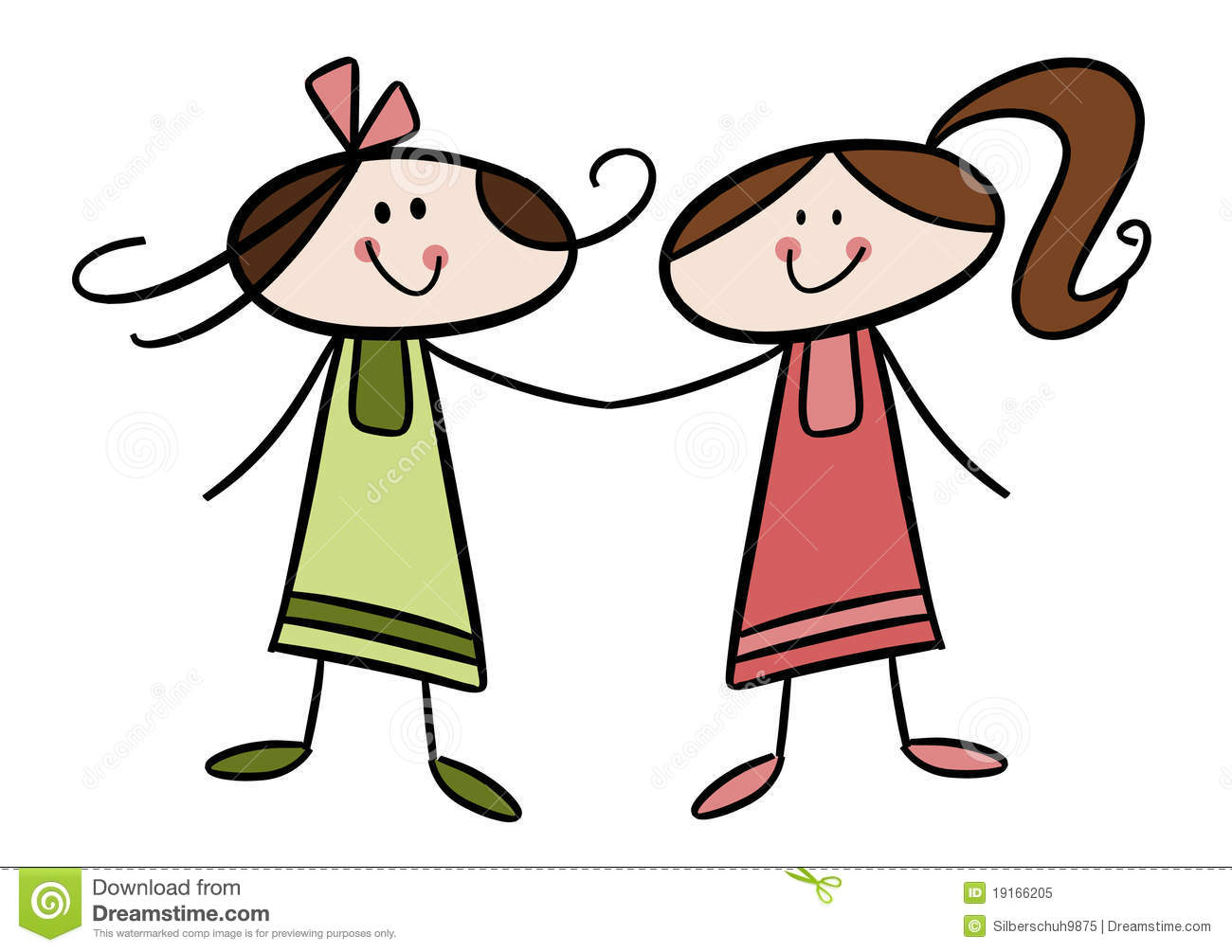 2 sister clipart image black and white stock Sister Clipart Free | Free download best Sister Clipart Free on ... image black and white stock
