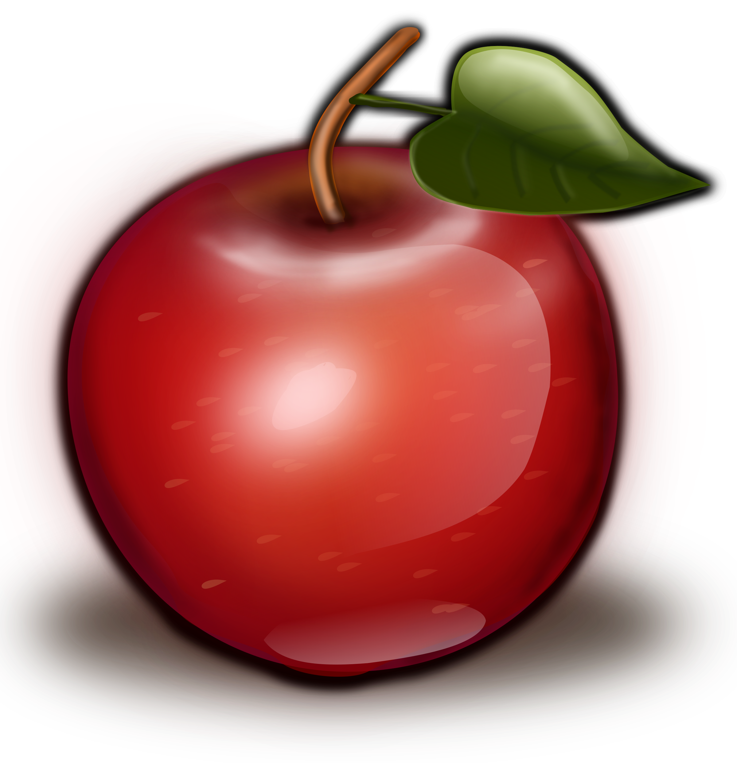 2 apple clipart jpg royalty free download Clipart - Red Apple II jpg royalty free download