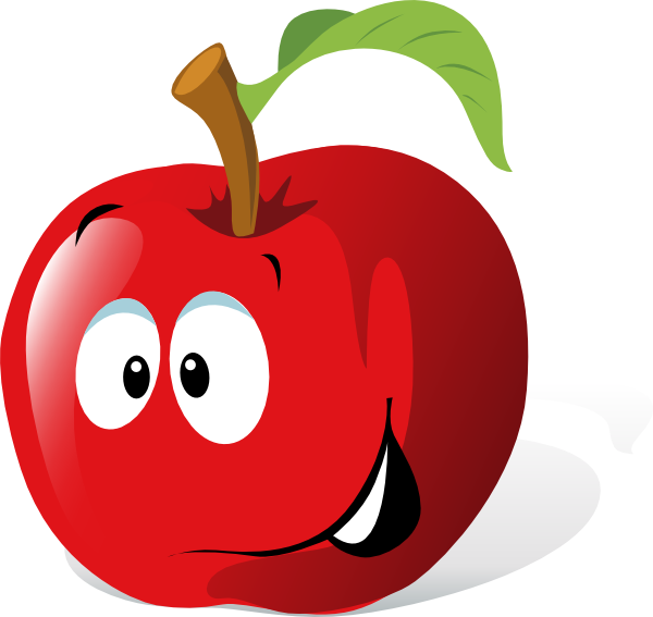 2 apple clipart graphic free library Cartoon Red Apple Clip Art at Clker.com - vector clip art online ... graphic free library