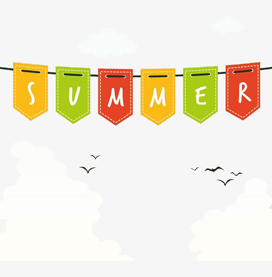 Summer banners clipart 2 » Clipart Station banner stock