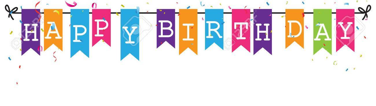 Happy birthday banners clipart 2 » Clipart Portal image library library