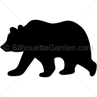2 bears clipart silhouette graphic library stock 13+ Bear Silhouette Clip Art | ClipartLook graphic library stock