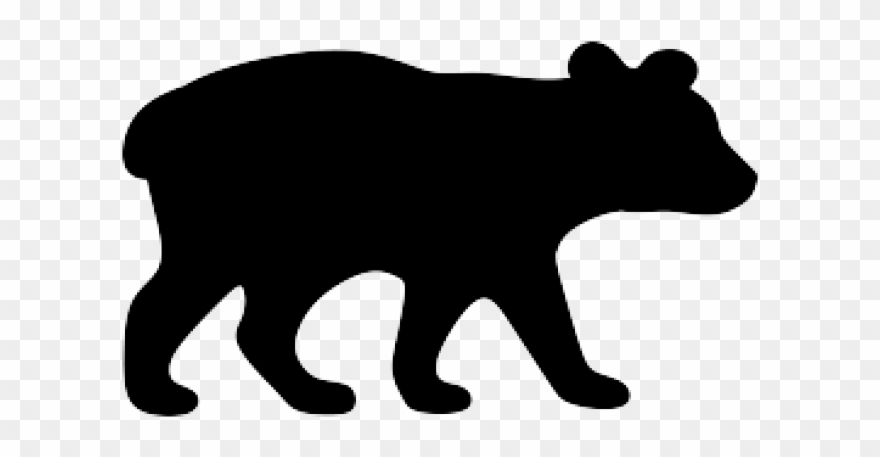 2 bears clipart silhouette picture stock Black Bear Clipart Wildlife - Baby Bear Silhouette Clipart - Png ... picture stock