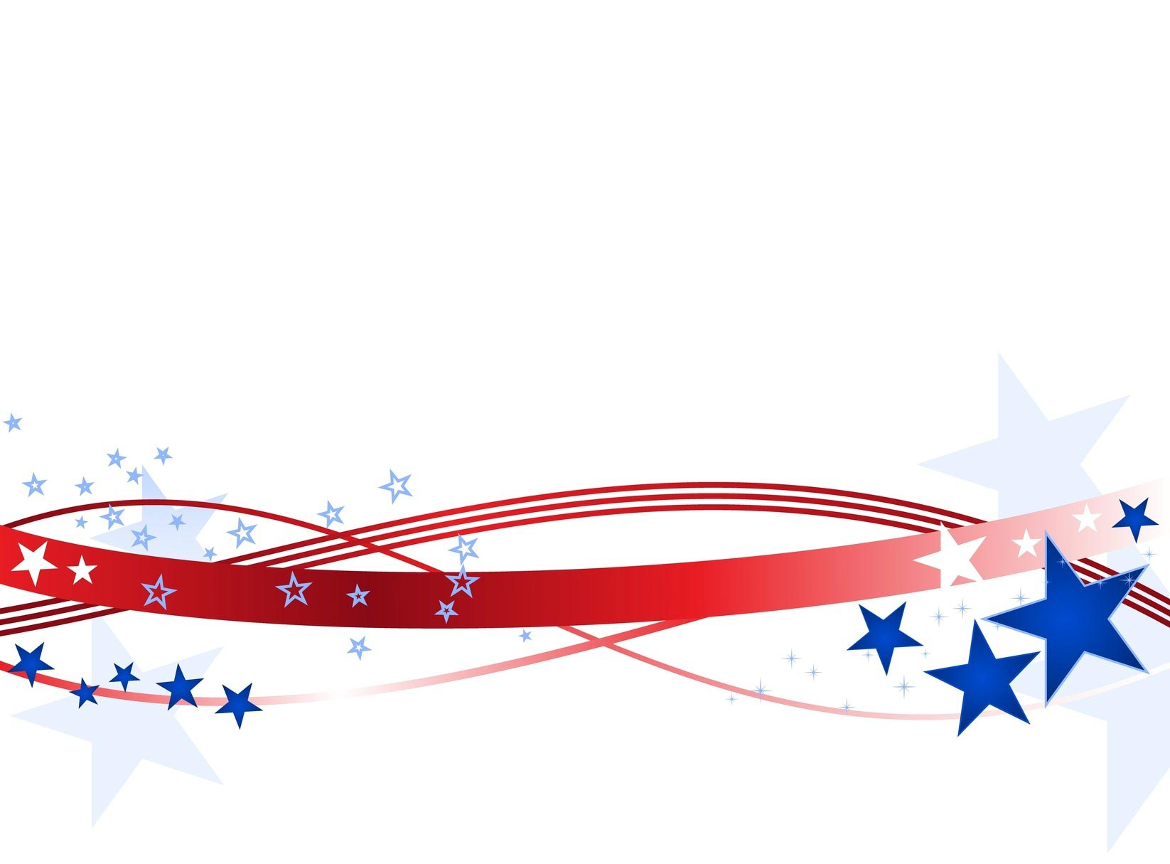 Free vector clipart fourth of july border