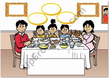 2 boys 1 girl clipart picture transparent Family Dinner 2 Boys 1 Girl - Upfrontgifts picture transparent