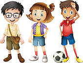 2 boys 1 girl clipart png stock 2 boys and a girl clipart - ClipartFest png stock