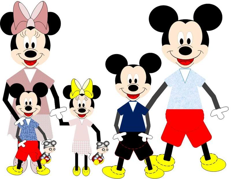 2 boys 1 girl clipart jpg stock Mickey Family Pictures | The DIS Disney Discussion Forums ... jpg stock