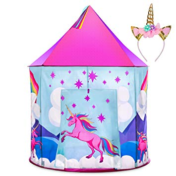 2 boys and girl playing rough clipart clipart stock Unicorn Tent for Girls - Unicorn Pop Up Kids Tent w/ Unicorn Headband and  Case, Unicorn Toys for Girls Indoor Princess Castle Kids Play Tent (Pink) clipart stock