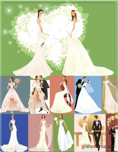 2 brides clipart svg transparent The Curious Case of Coordination ~ The Rebellious Brides svg transparent
